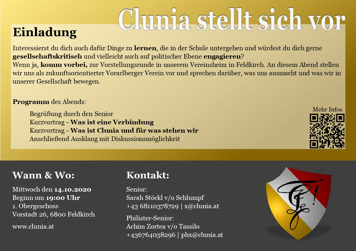 Clunia Informationsabend